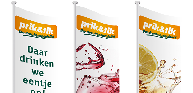 Het nieuwe logo van Prik&Tik