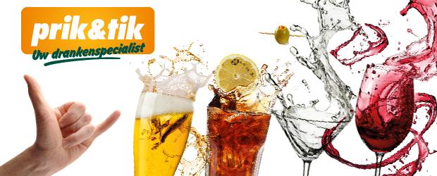 Prik&Tik uw drankenspecialist