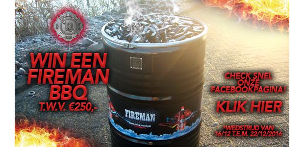 Win een Fireman BBQ