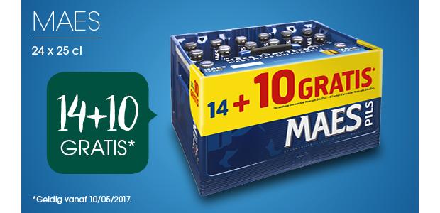 Maes: 14+10 GRATIS