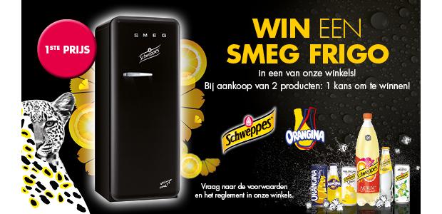 Win een SMEG frigo of een van de andere prijzen