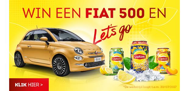 Win een Fiat 500 met Lipton